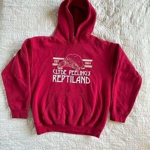Clyde Peelings Reptileland Sweatshirt M